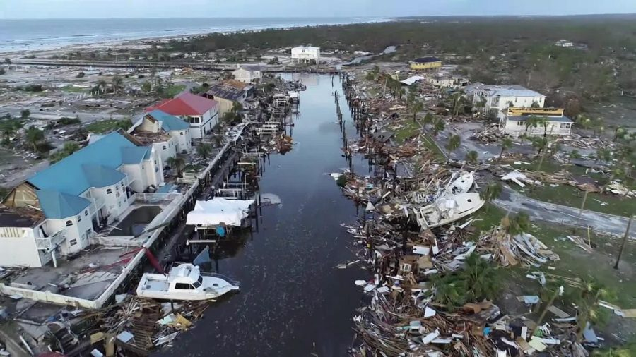 Hurricane Micheal was recorded as one of the strongest hurricanes that has hit Floridas Pandhandle since the late 1800s.