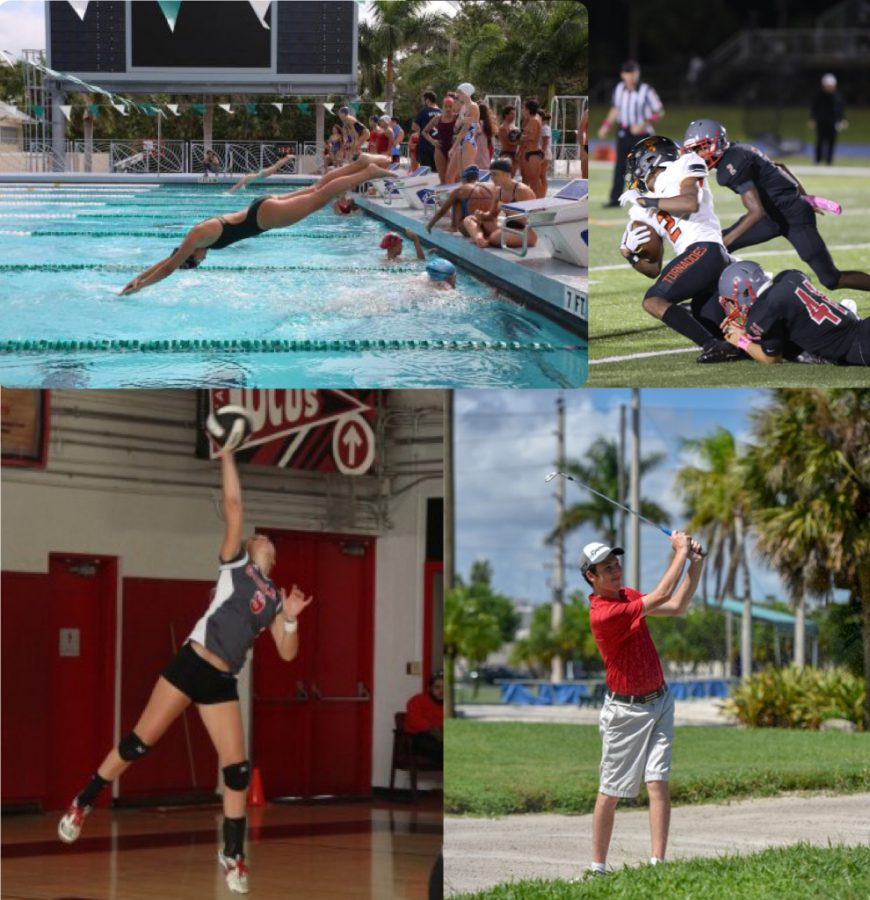 The month of September's Athletes of the Week feature talent from many of our fall sports.