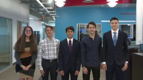Juniors Richard Smithies, Christian Garcia and Vyacheslav Lazurenko went to nationals in New York to compete for NFTE.