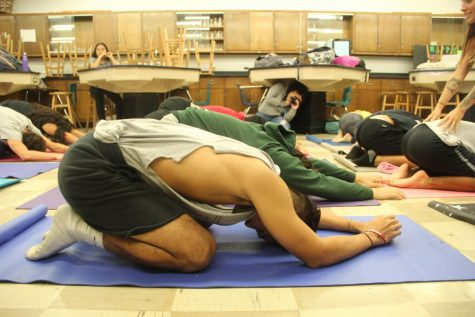 Students AIM to Reduce Stress through Yoga