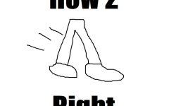 How to Walk Right