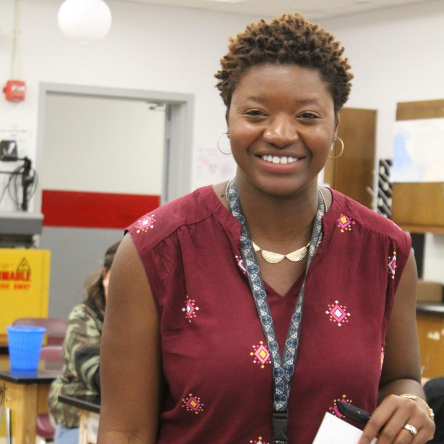 Science teacher working for a greater good