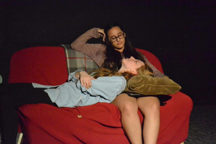 Anna De-La-O and DJ Lopez in the second One Act.