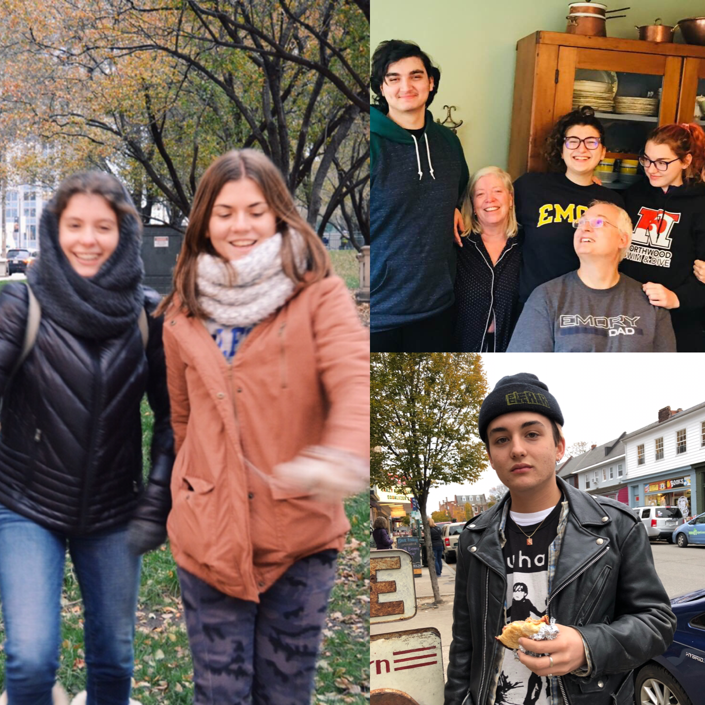 Students traveled to various parts of the United States for Thanksgiving break.