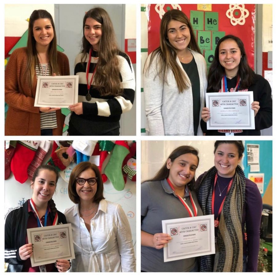 These cavaliers have been acknowledged for their studious attribute for the month of November.