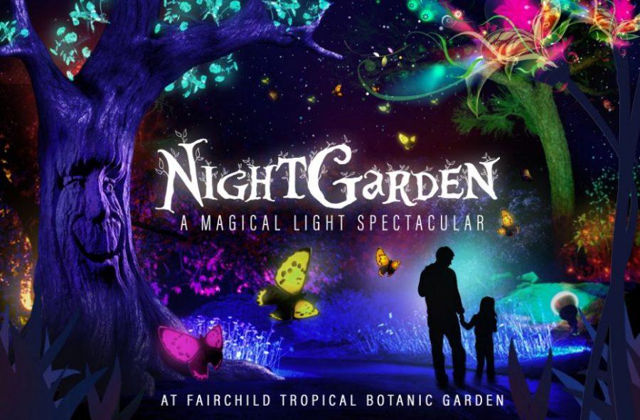 Fairchild's Night Gardens Light Up the Holidays