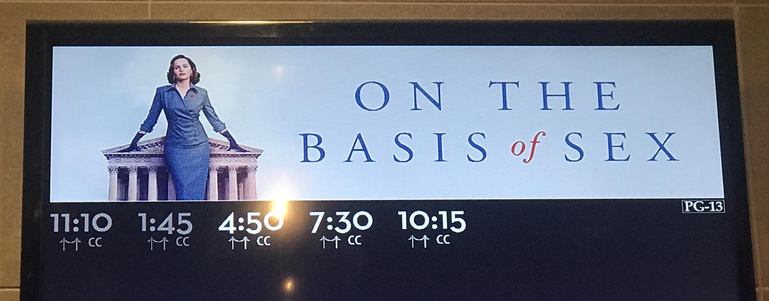 """On the Basis of Sex"" is the story of a milestone case in the history of gender equality."