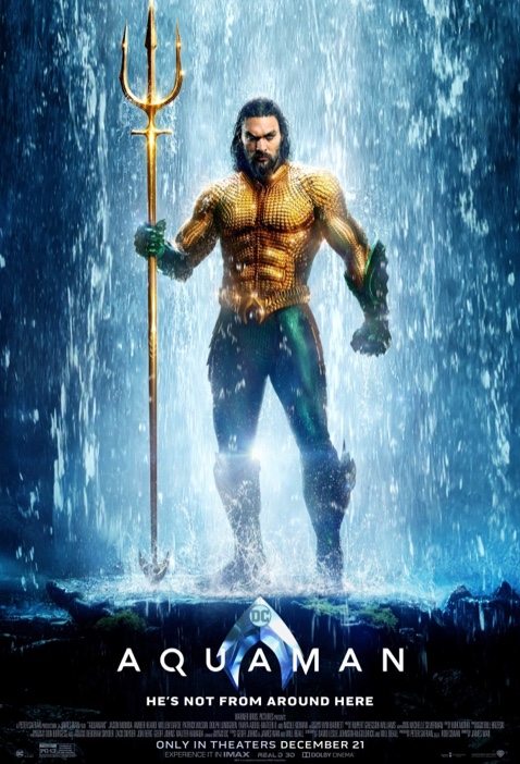 Jason Momoa takes on the role of Aquaman in the stand-alone superhero film.