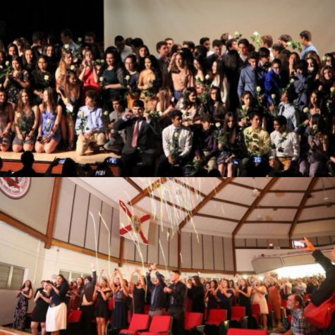 Juniors Participate in IB Pinning and Junior Ring Ceremony