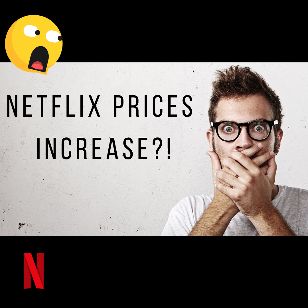 Netflix prices increase in the New Year!