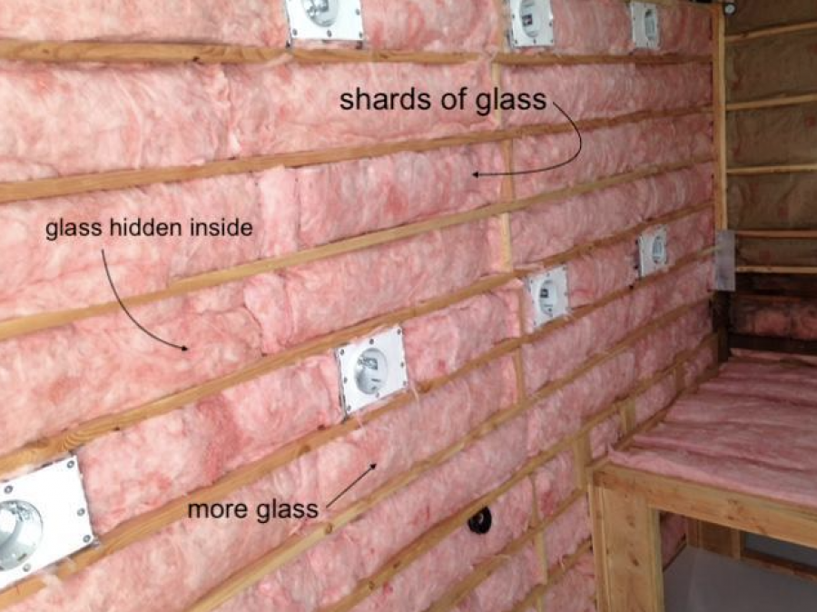 Fiberglass is terrible, except maybe for insulation.