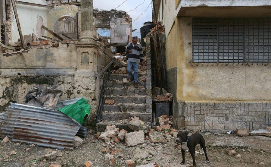 Tornado en La Habana