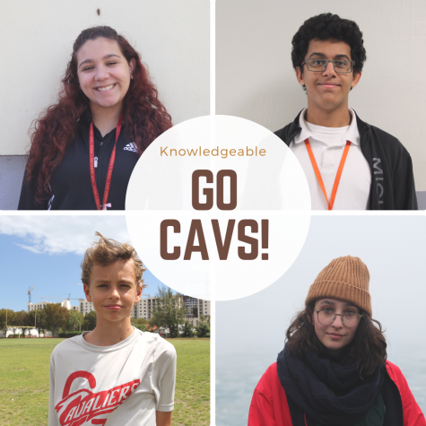 These four Cavs were selected as knowledgeable for the month of February!