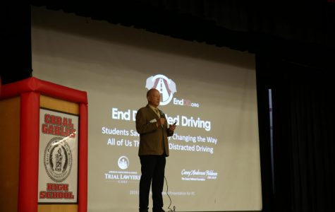 Students Learn How to Stay Safe on the Road at the Distracted Driving Assembly