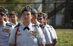 Carvalho commemorates JROTC cadets