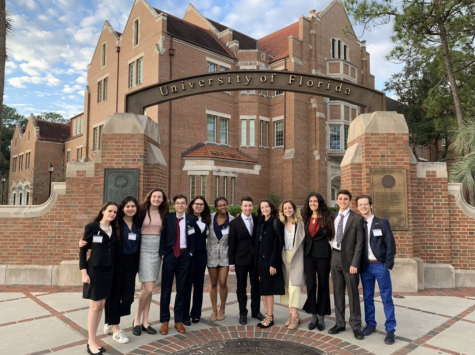 Model United Nations Team Revisits the Swamp, Stronger Than Ever