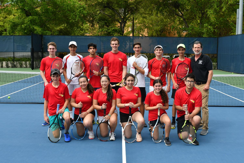The tennis team for this season!
