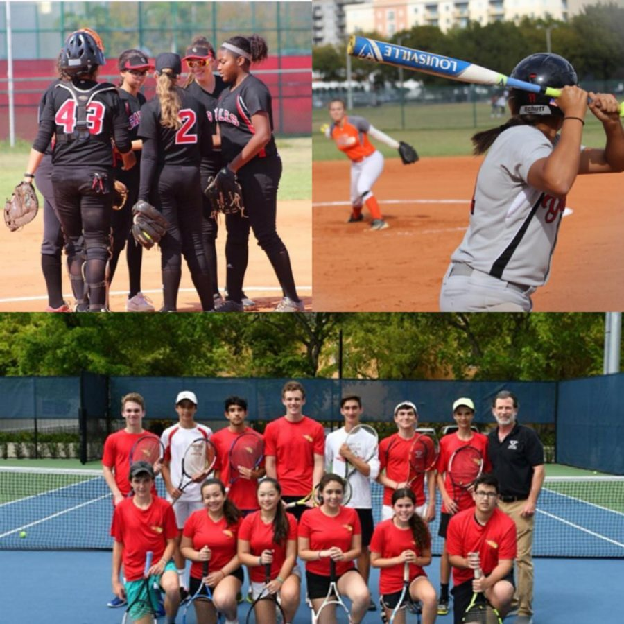 The+Softball+and+Tennis+team+getting+ready+for+the+beginning+of+the+spring+season.%0A%0A%0A%0A%0A