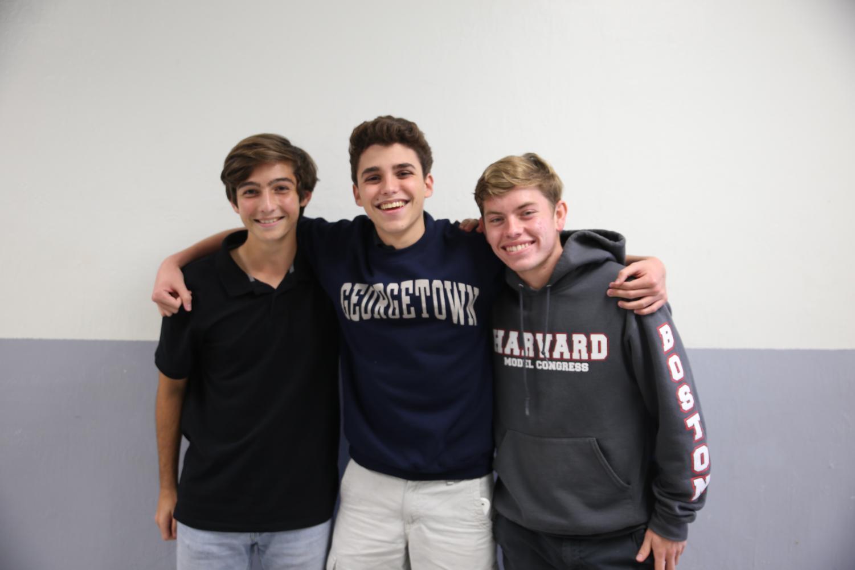 Representates del consejo estudiantil.