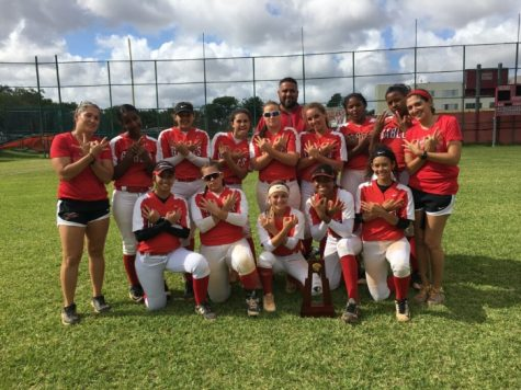 For the SIXTH time in a row, the Lady Cavalier Softball team has conquered their district rivals and emerge victorious with yet another district title.