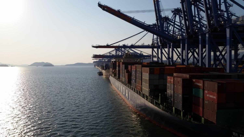A ship preparing to sail across the Atlantic Ocean.