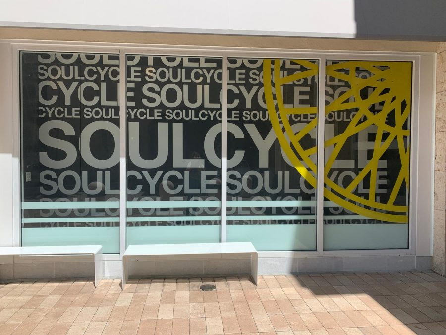 SoulCycle gym exterior