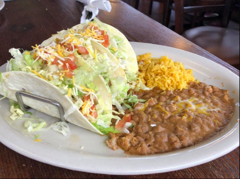 Pictured above is the Three Taco Platter from Taco Rico, one of several delicious dining options for a quick, local after-school meal.