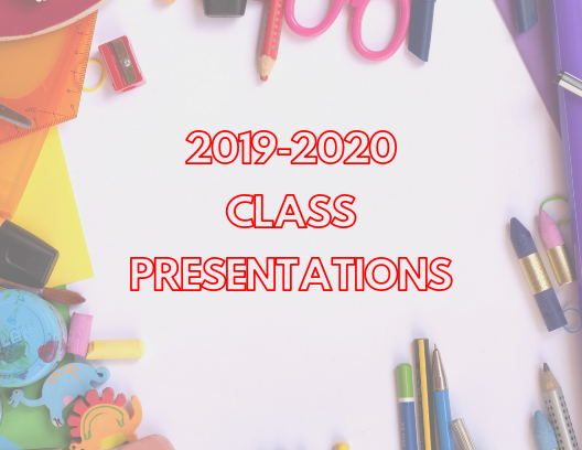This year's edition of class presentations provided insight into the 2019-2020 school year's major events, including homecoming, prom, class trips and school fundraising.