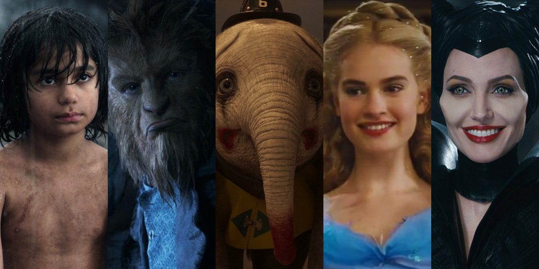 An overview of a couple of the films that Disney has remade into live action  movies