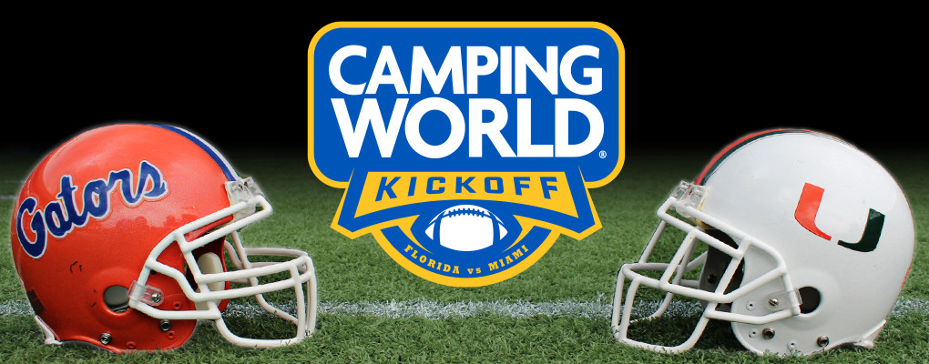 The 2019 Camping World Kickoff event jump-started the beginning of college football, hosting two historically elite college football teams in the Miami Hurricanes and the Florida Gators.