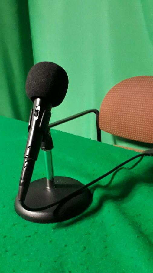 The Gables Live! microphone