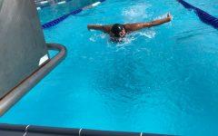 Cavaliers Pool Through the Deep End of Their Second Swim Meet