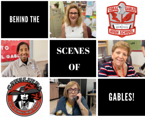 The behind the scenes team at Coral Gables Senior High may not be well-known to all students, but their presence is felt throughout the entirety of our school campus.