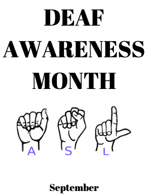International Deaf Awareness Month- Make Their Voices Heard