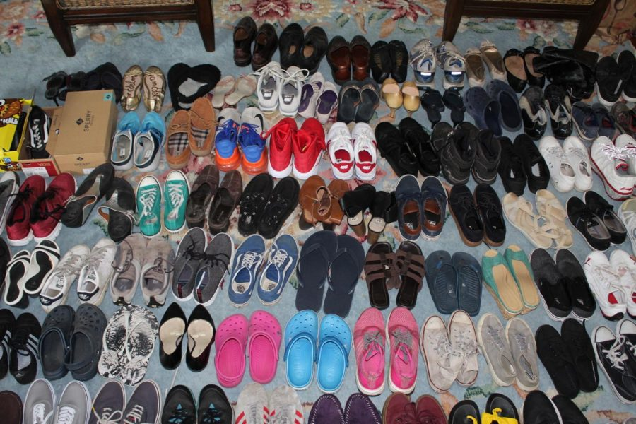 Started in 2013, Horton has collected shoes for the homeless almost every school year for seven years.