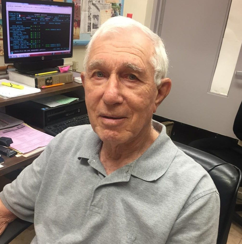 Mr. Furnora continues to celebrate his 60 years of service at Coral Gables Senior High.