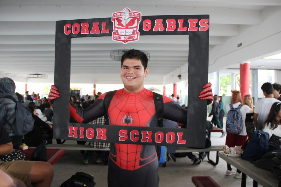 Unleashing their inner superhero, many students enjoyed taking the role of their favorite characters.
