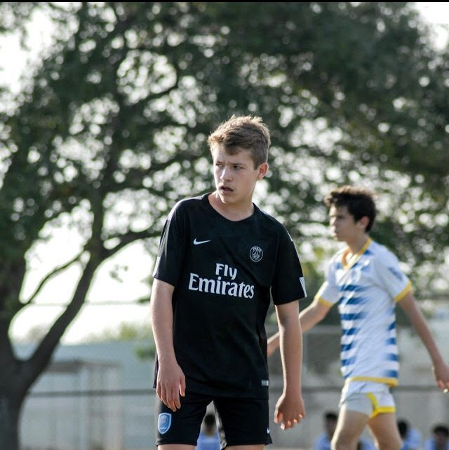 Junior Marco Lund-Hansen has dedicated majority of his life to the game of soccer and passionately shares his love for the sport with others.