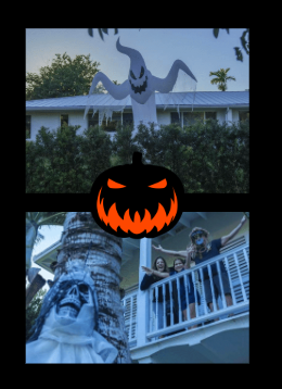 Last year´s Spooky decorations