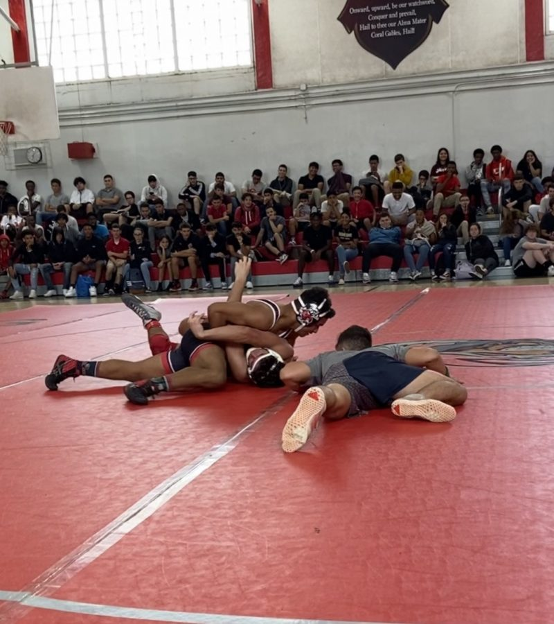 The+Gables+wrestlers+took+on+their+first+scrimmage+of+the+year.