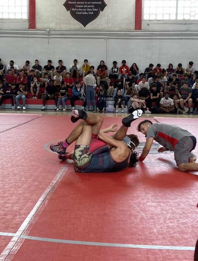 Each match consisted of players competing against each other as a form of training.
