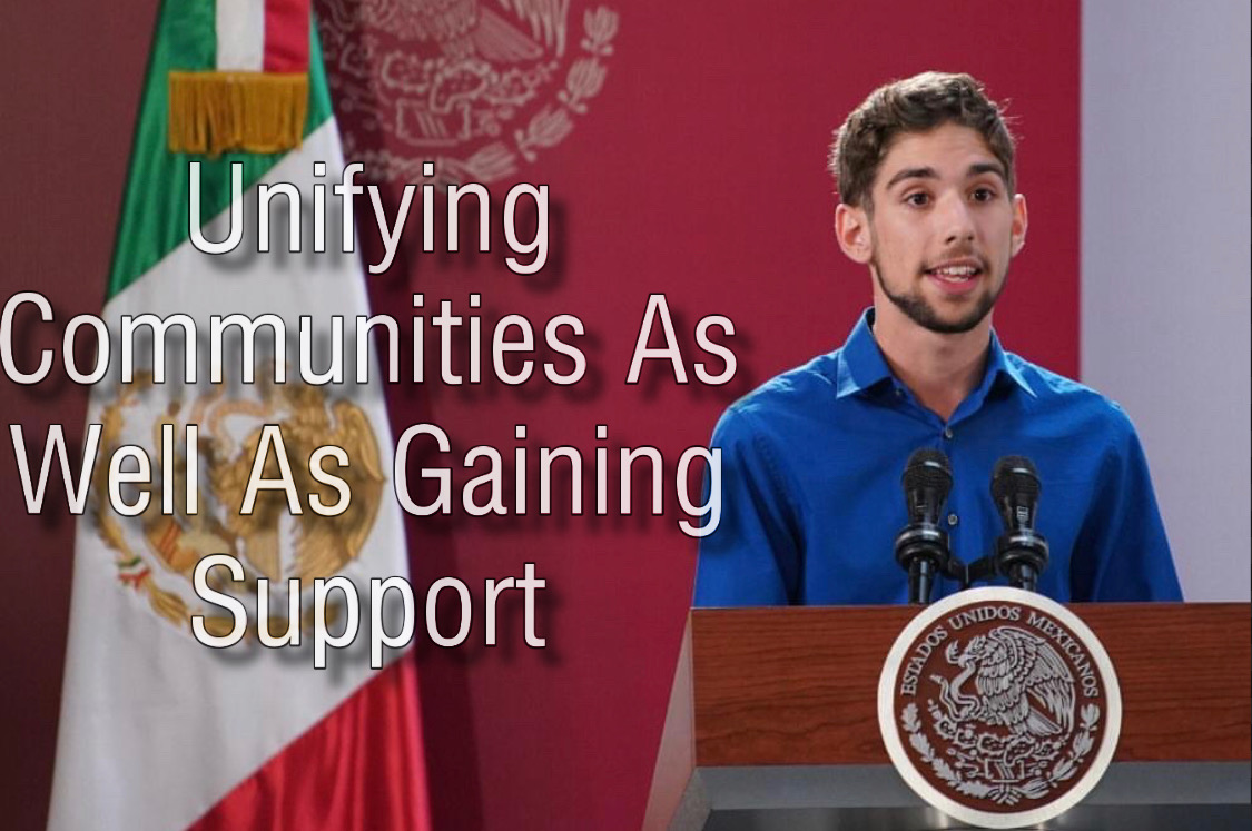 During the final week of October, Jorge Valero visited Mexico to learn about Hispanic culture and was allowed to share his experiences through the Scholas Occurrentes organization with Mexican citizens.