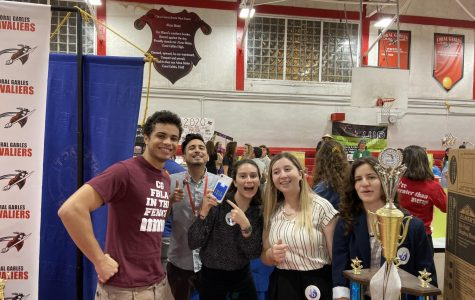 Visitors got to tour booths and learn about all the amazing programs Gables has to offer on Academy Night.