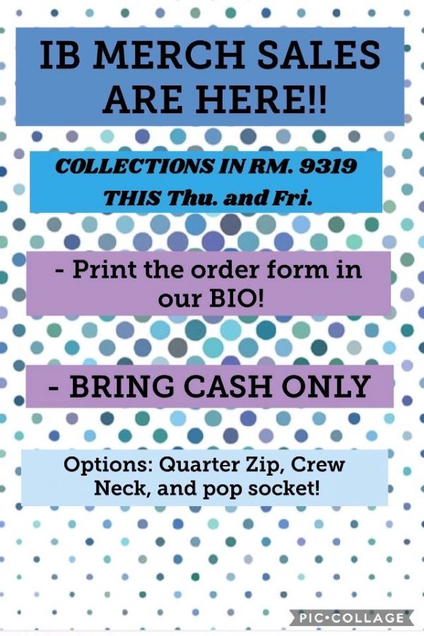 IB Merch Order Form 2019-2020