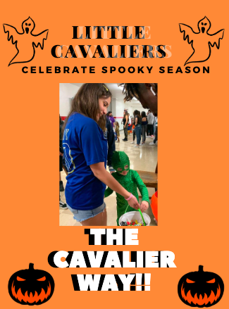Little Cavaliers Celebrate Halloween and Spirit Week Trough the Halls of Gables