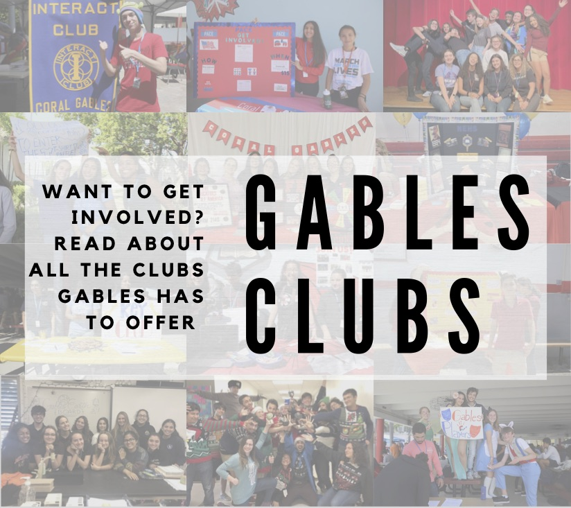 With over 40 clubs to choose from Gables has something for everyone!