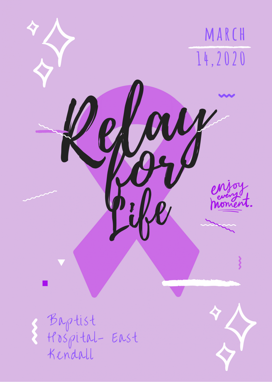 RFL Flyer to promote the event and create awareness.