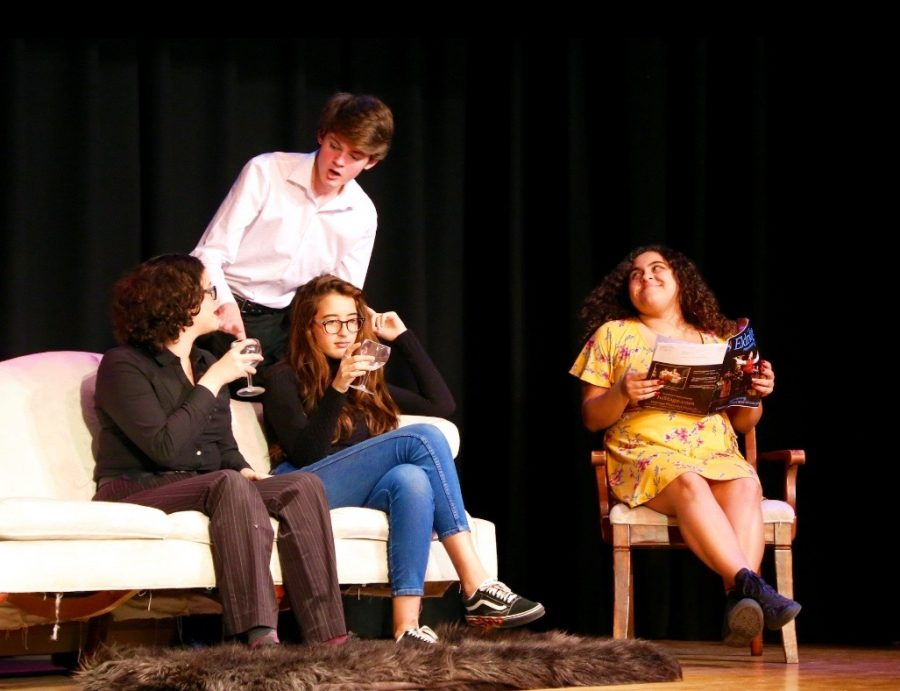 Troupe presented many comedic, dramatic and musical performances, as well as charming choreography.