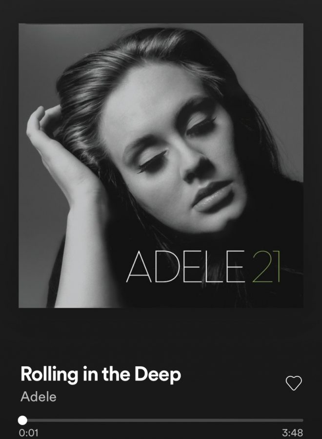 Adeles Rolling In the Deep from her album 21