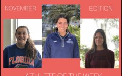 Athletes of the Week: November Edition